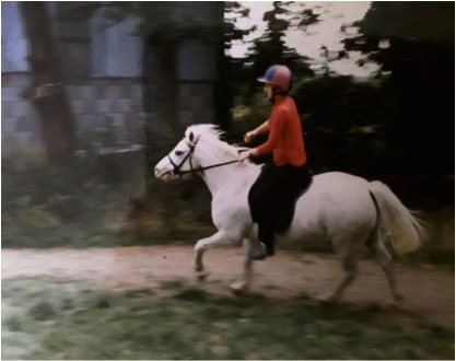Winnie Learning To Canter
